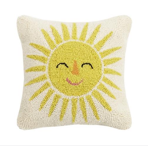 """Sun Hook Pillow, 14""""x14"""""""
