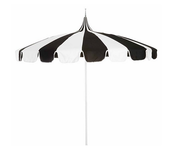 Priscilla Striped Umbrella