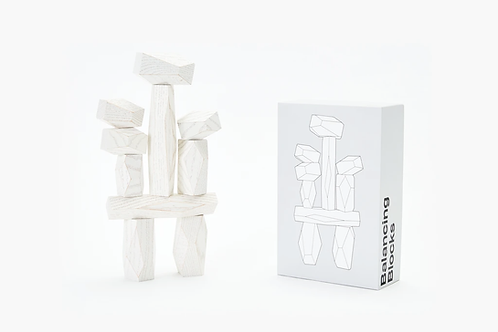 Balancing Blocks, White