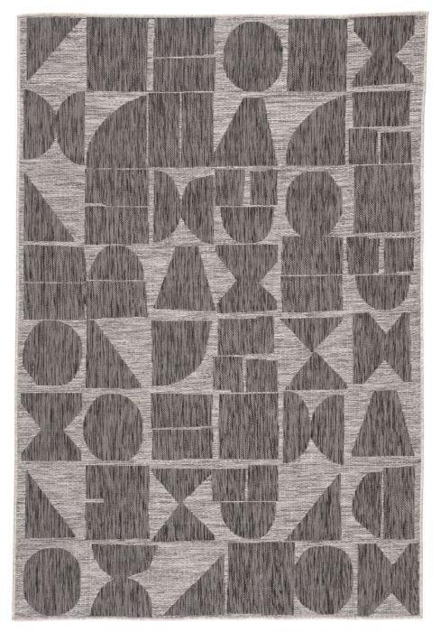 Zulu Indoor/Outdoor Rug, Black