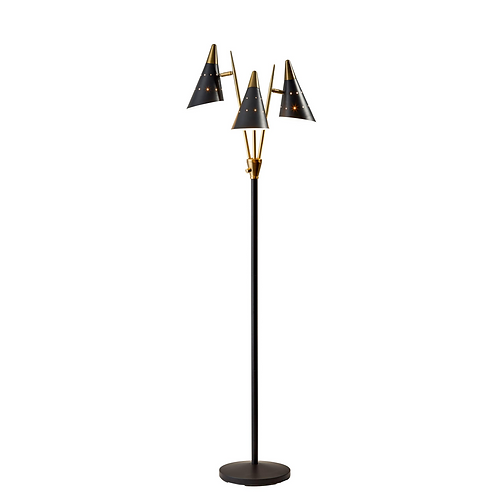 3-Arm Floor Lamp