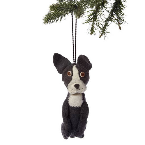 French Bull Dog Ornament