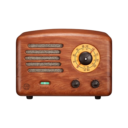 Retro Bluetooth Radio Walnut