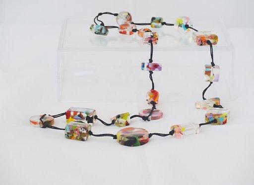 Long Confetti Necklace