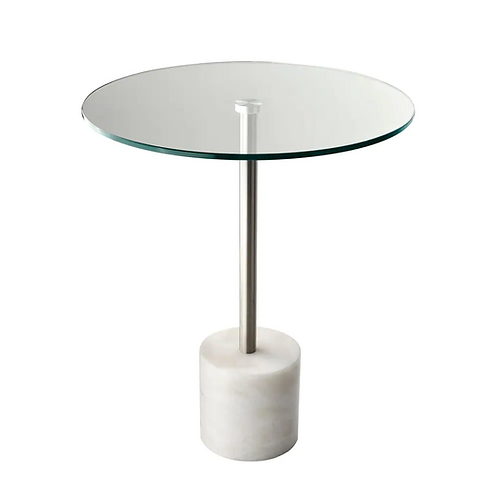 George Side Table, White