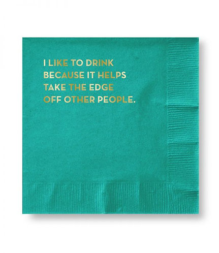 Other People Cocktail Napkins