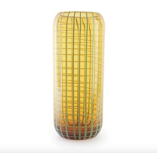 Citrus Leaf Techno Tall Vase