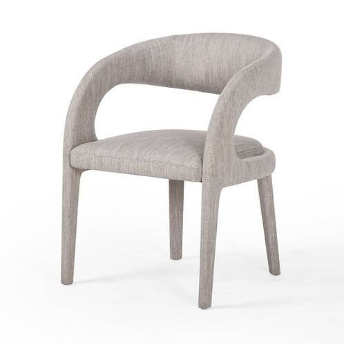 Hawkins Dining Chair, Savile Flannel
