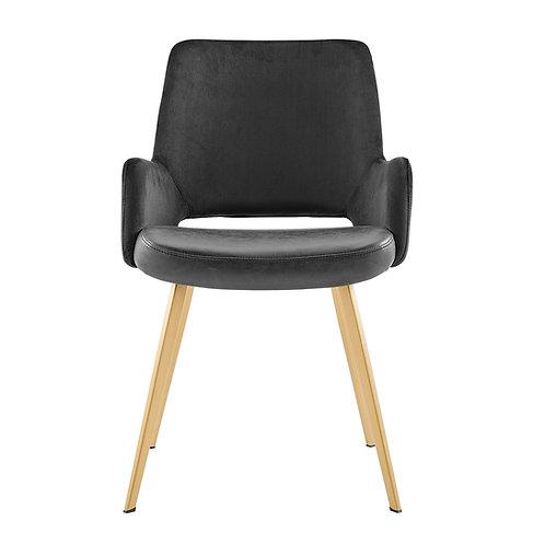 Daniel Arm Chair, Black