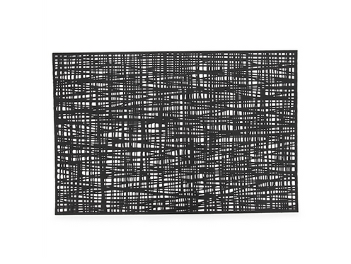 Black Loom Placemat
