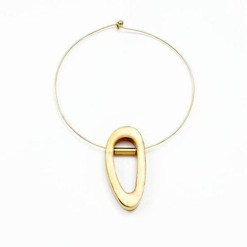 Capiz Orbit Choker