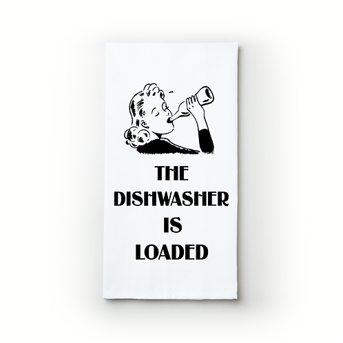 The Dishwasher is Loaded