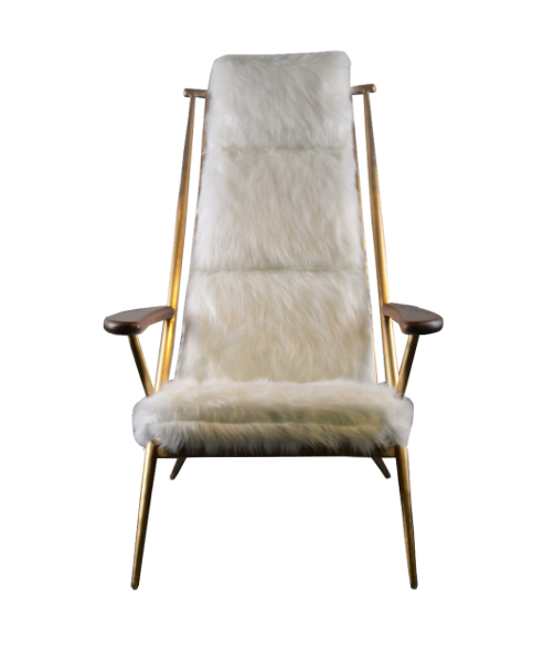 Beauvoir Faux Fur Lounger