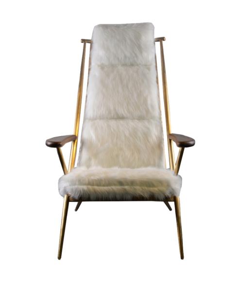 Beauvoir Faux Fur Lounger
