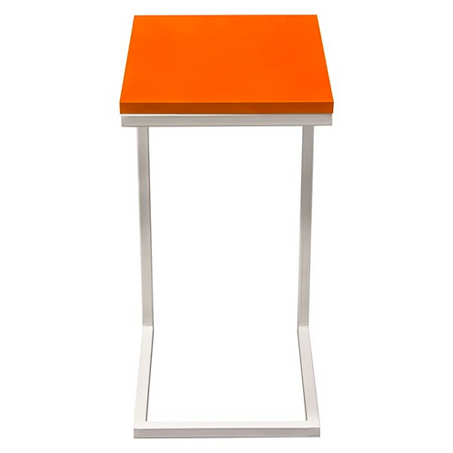 Edge Side Table, Orange