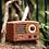Thumbnail: Retro Bluetooth Radio Walnut