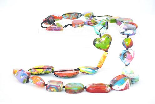 Long Multi-Color Necklace