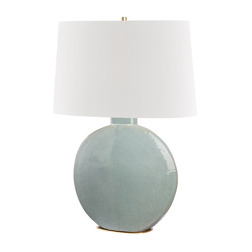 Rising Sun Table Lamp, Grey