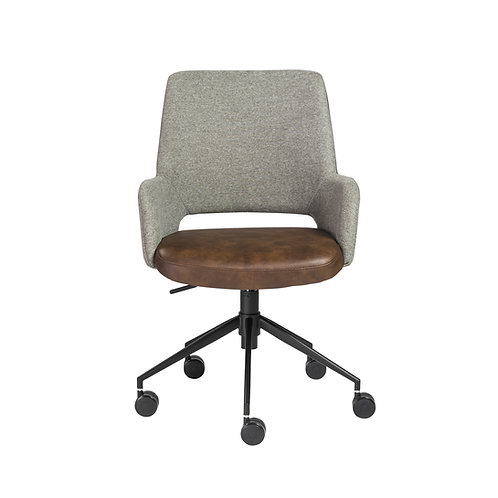 Daniel Office Chair, Cognac