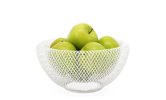 Double Wall Mesh Fruit Basket, 9""