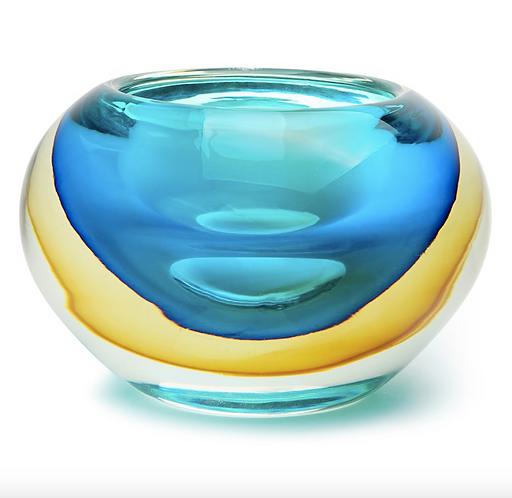Aqua + Amber Halo Bowl