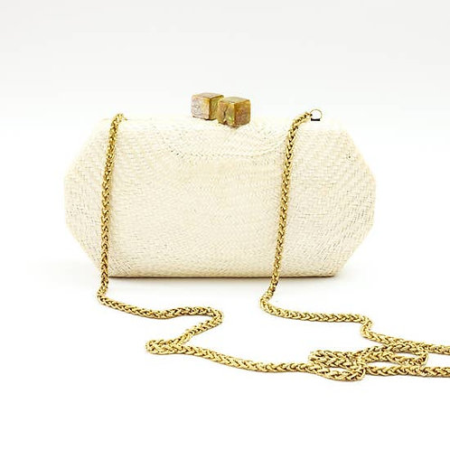 Oat Palm Clutch