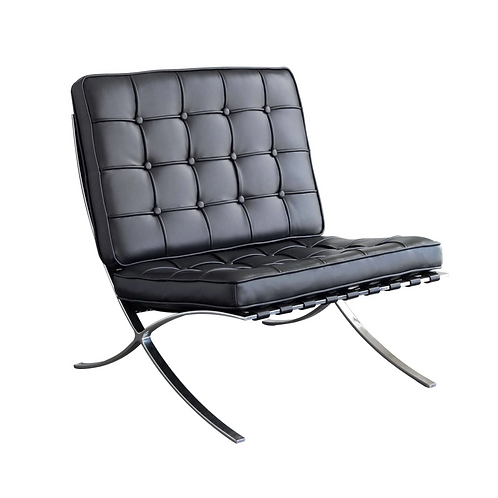 Barcelona Chair, Black