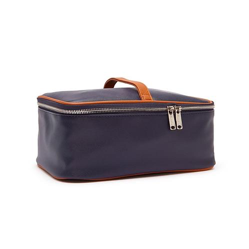 2-in-1 Toiletry Bag, Navy Blue