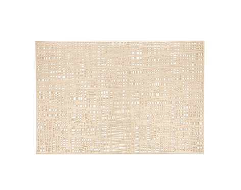 Gold Loom Placemat