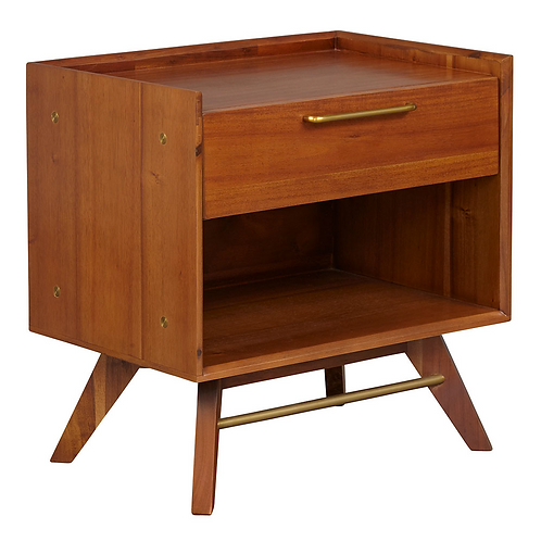 Harkins 1-Drawer Nightstand