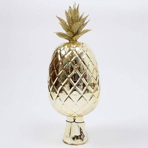 Pineapple Glass Tree Topper