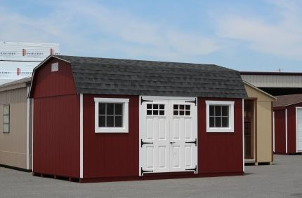 High Barn Shed Red