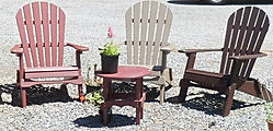 Adirondack Folding Poly Chair