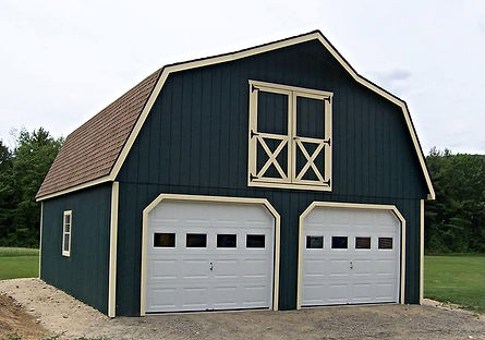 Built on Site 2 Bay Garage