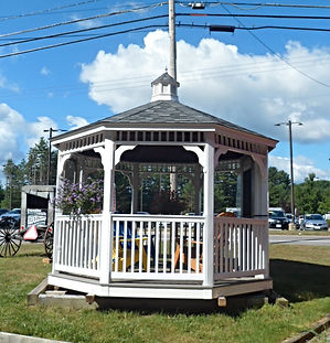 Amish Octagon Gazebo