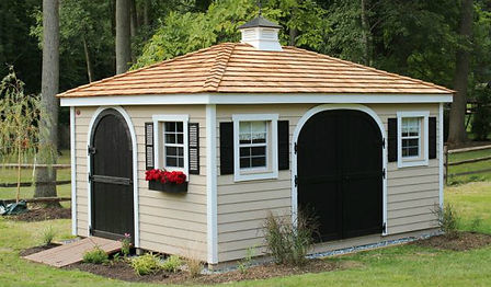 A-Frame Hip Roof Shed