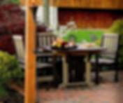 Amish Poly English Garden Set