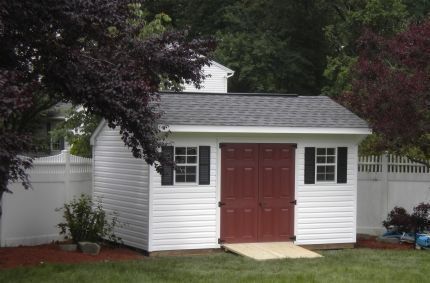 Quaker Style Amish Shed