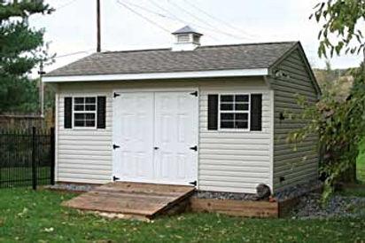 Quaker shed vinyl