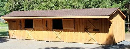 Animal Barn 3 stall