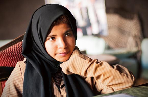 Nujood Ali was nine years old when her parents arranged her to be married to Faez Ali Thamer, a man in his thirties. Today, she is a central figure in the movement to end forced child marriage.