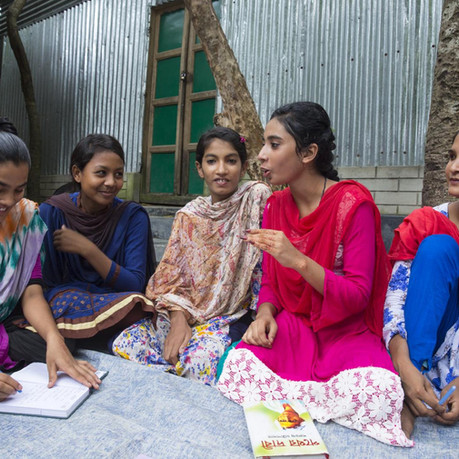 Listening to Girls: The Key to Rebuilding Societies