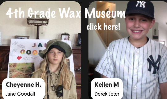 4th Grade Wax Museum