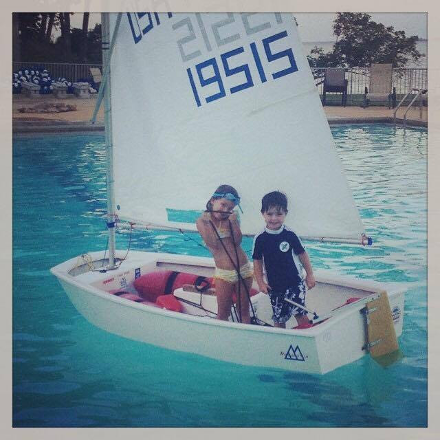 Swimming & Sailing Go Hand in Hand