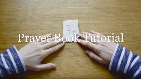 Prayer Book Tutorial