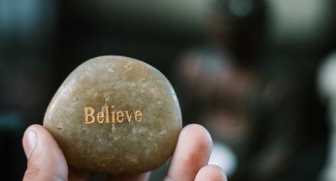 From The Garden Bench - Belief