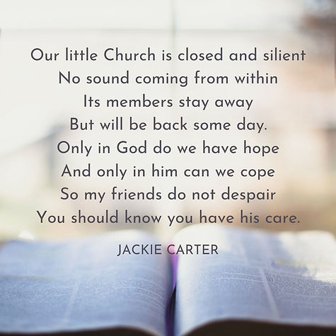 Poem by Jackie Carter
