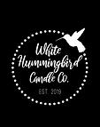White  Hummingbird Candle Co Logo