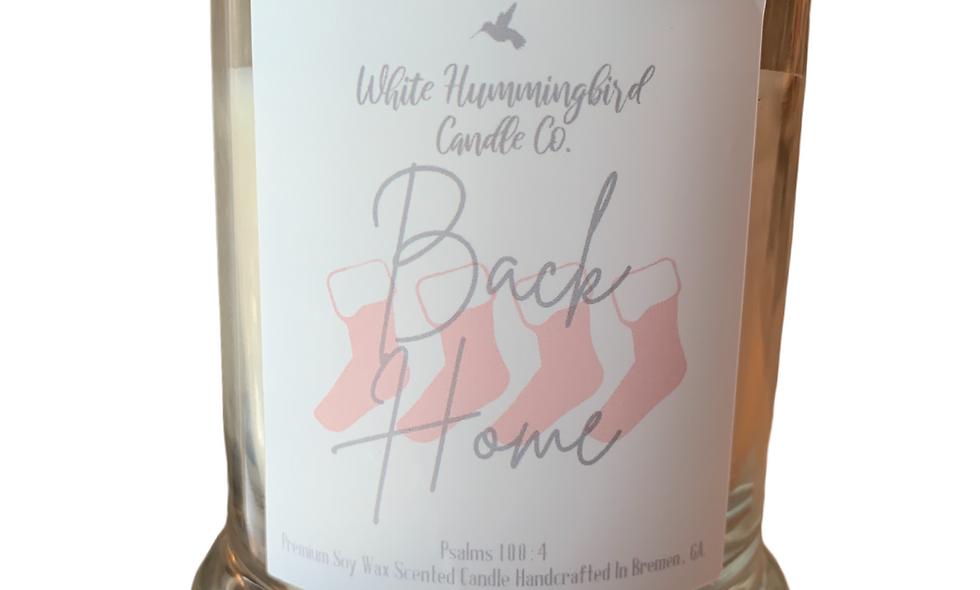 Back Home 10 oz 2 Wick Jar