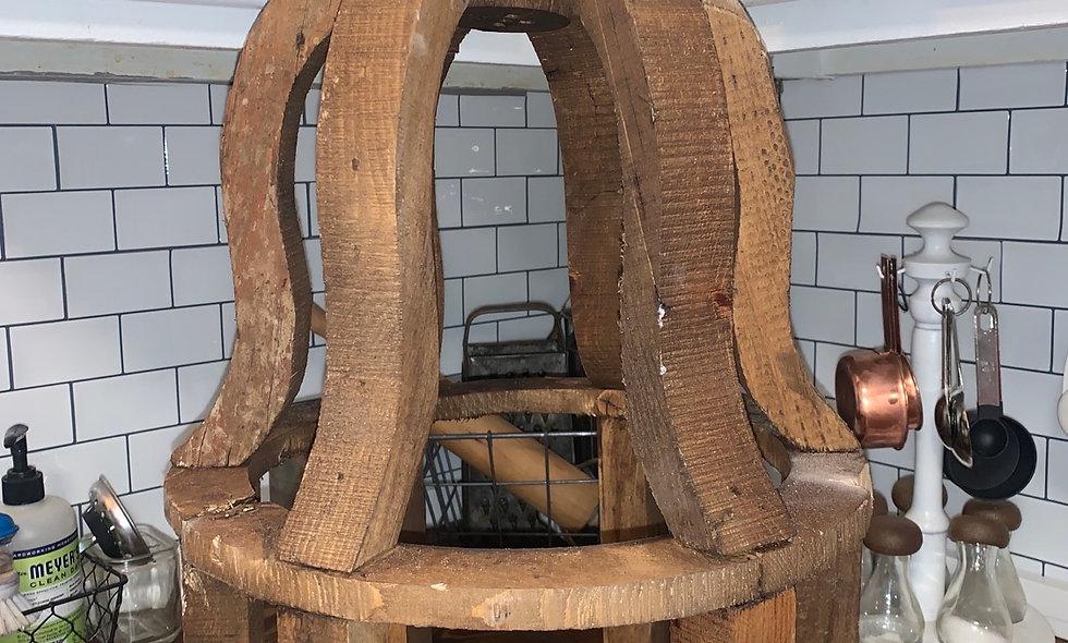 Ornate Wood Lantern